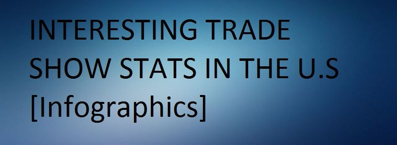 Interesting Trade Show Stats in The U.S. (infographic)