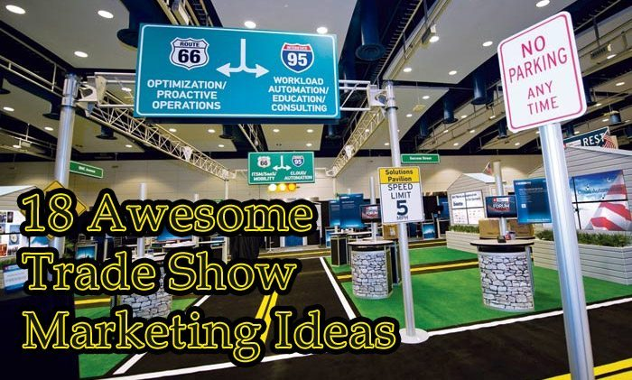 Exhibition Stand Gimmicks : Awesome trade show marketing ideas in for your