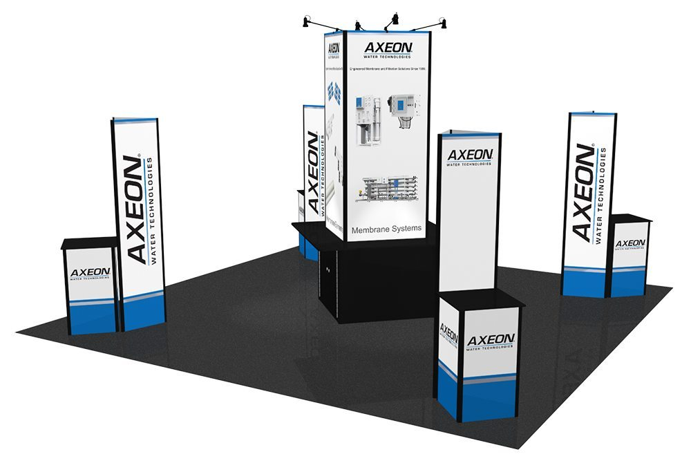 Used Trade Show Booth : Affordable used trade show displays booths