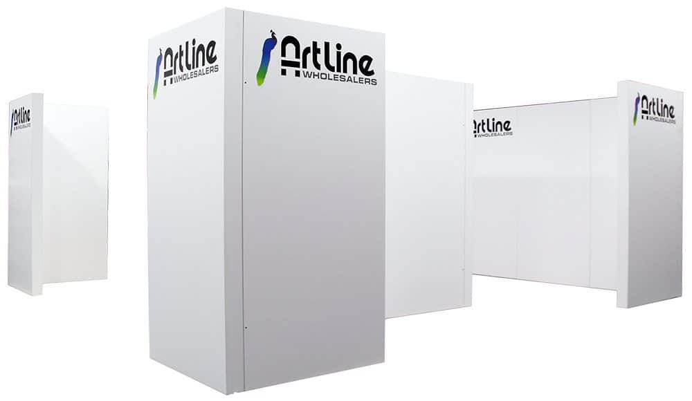 20 X 20 Trulite With Free Standing Wall Panels