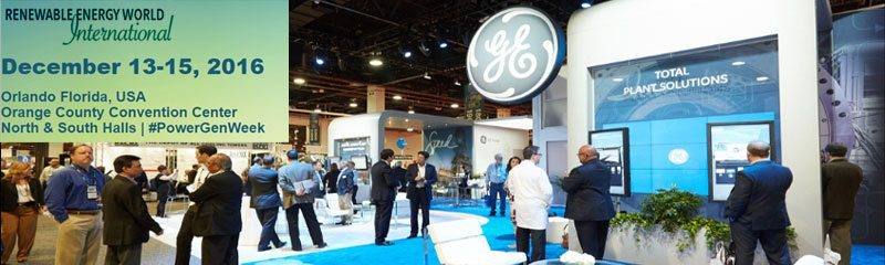 Renewable Energy World International Conference
