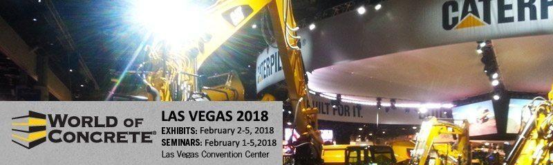 World of Concrete 2018 Trade Show