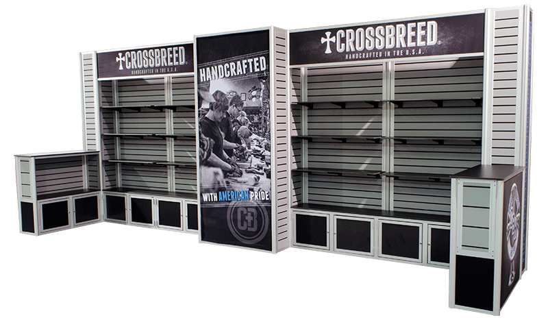 used slatwall displays