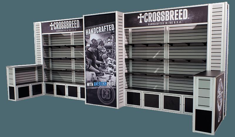 Crossbreed Holsters 10x20 Slatwall