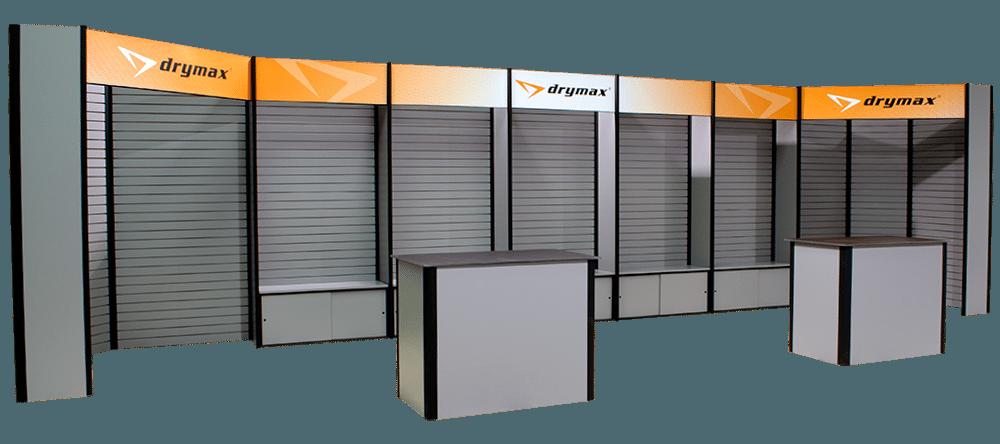 Drymax 10x30 Slatwall