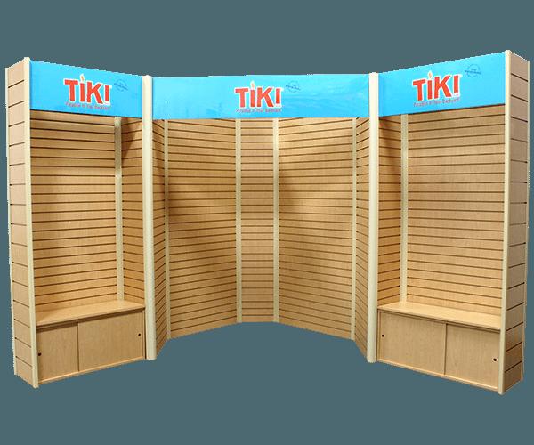 Tiki 10x10 Slatwall