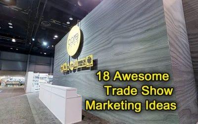 18 Awesome Trade Show Marketing Ideas
