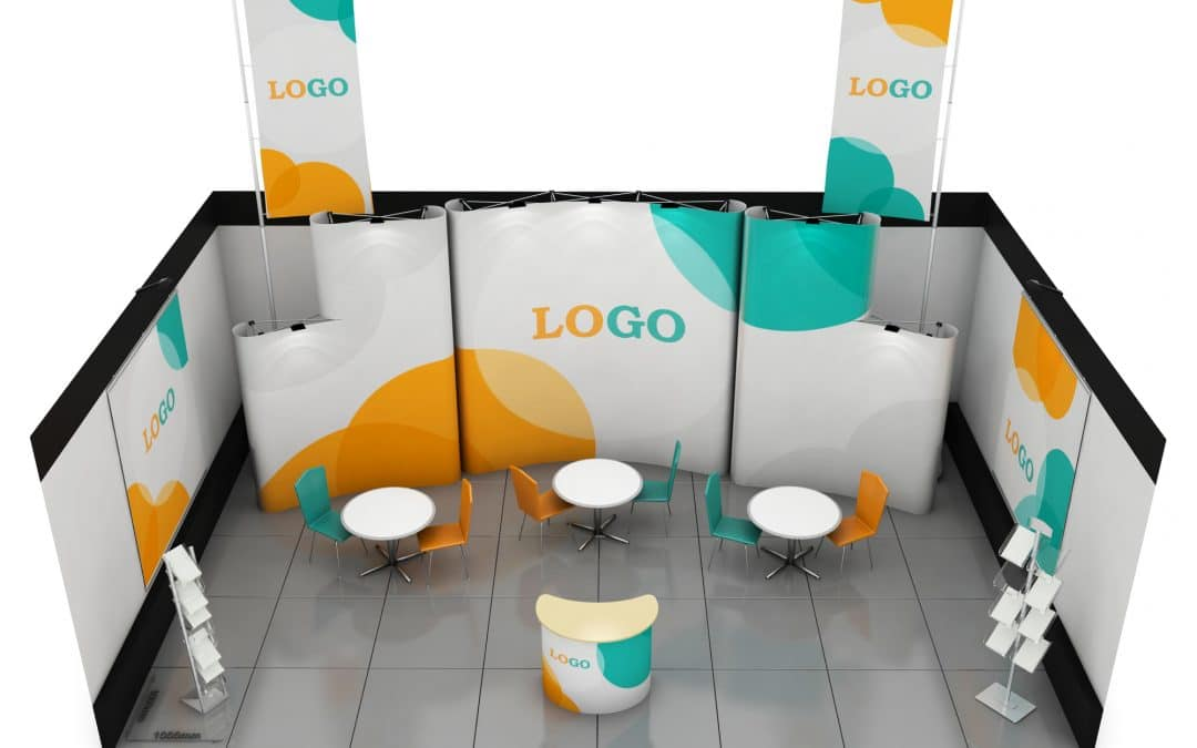Expo Stand Backdrop : 7 trade show booth ideas for small budgets