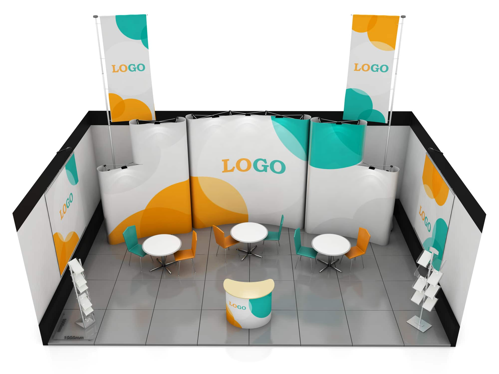 trade show booth ideas for small budgets