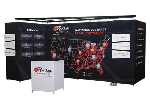 modern trade show exhibits for sale